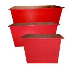 Ящик для піску стаціонарний 0,13 куба