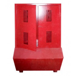 Стенд пожежний закритого типу з ящиком для піску