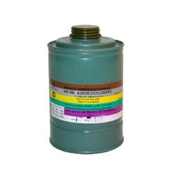 Коробка фільтруюча до протигазів марки А2В2Е2К2COSXР3