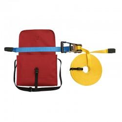 Система горизонтального страхування стрічкова з сумкою / 10м /