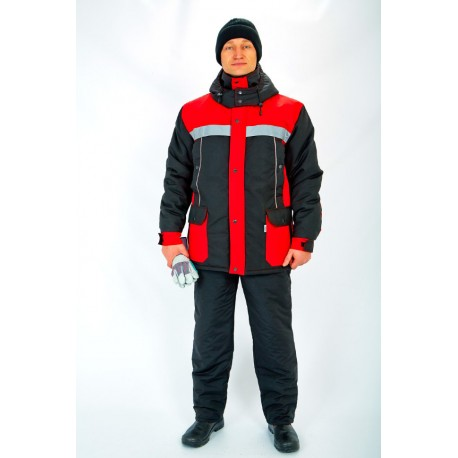 Куртка Портовик , червоний