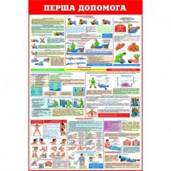 Плакат Перша допомога (1)